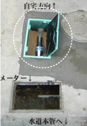 vG7量子水活水器 戸建取り付け例01